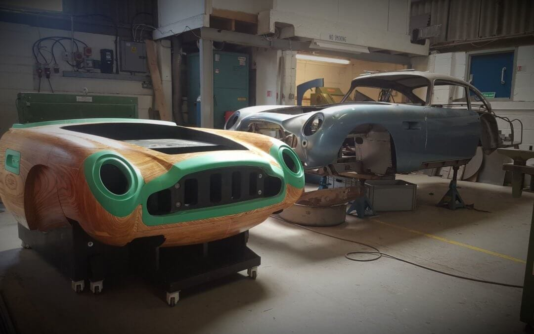 Aston Martin Classic Restoration – Creating the Buck